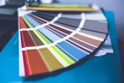 Elección de color en la pantonera